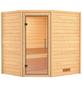 WOODFEELING Sauna »Mia«, für 3 Personen ohne Ofen-Thumbnail