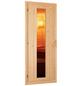 WOODFEELING Sauna »Mia«, inkl. 9 kW Saunaofen mit externer Steuerung für 3 Personen-Thumbnail