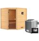 WOODFEELING Sauna »Mia«, mit Ofen, externe Steuerung-Thumbnail