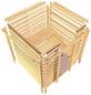 WOODFEELING Sauna »Mia« mit Ofen, externe Steuerung-Thumbnail