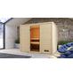 WOODFEELING Sauna »Midja«, für 4 Personen ohne Ofen-Thumbnail