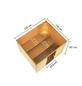 WOODFEELING Sauna »Midja«, inkl. 4.5 kW Bio-Kombi-Saunaofen mit externer Steuerung für 4 Personen-Thumbnail