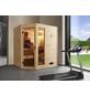 WEKA Sauna »« mit Ofen, externe Steuerung-Thumbnail