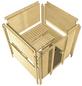 KARIBU Sauna »Mitau«, mit Ofen, integrierte Steuerung-Thumbnail