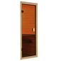 WOODFEELING Sauna »Monnja« inkl. 4.5 kW Saunaofen mit externer Steuerung für 4 Personen-Thumbnail