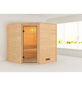 WOODFEELING Sauna »Nina«, BxTxH: 196 x 196 x 198 cm, ohne Saunaofen-Thumbnail