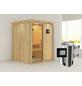 KARIBU Sauna »Ogershof« mit Ofen, externe Steuerung-Thumbnail