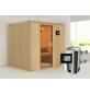 KARIBU Sauna »Olai«, mit Ofen, externe Steuerung-Thumbnail