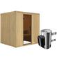 KARIBU Sauna »Olai« mit Ofen, integrierte Steuerung-Thumbnail