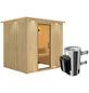 KARIBU Sauna »Olai«, mit Ofen, integrierte Steuerung-Thumbnail