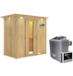 KARIBU Sauna »Pärnu« mit Ofen, externe Steuerung-Thumbnail