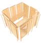 KARIBU Sauna »Paide 1 «, mit Ofen, integrierte Steuerung-Thumbnail