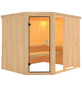 KARIBU Sauna »Paide 3«, ohne Ofen-Thumbnail