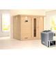 KARIBU Sauna »Paldiski« mit Ofen, externe Steuerung-Thumbnail