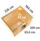 KARIBU Sauna »Paldiski«, mit Ofen, integrierte Steuerung-Thumbnail