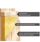 KARIBU Sauna »Pölva 1«, BxTxH: 210 x 184 x 184 cm, 9 kw, Saunaofen, ext. Steuerung-Thumbnail