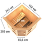 KARIBU Sauna »Pölva 1«, ohne Ofen-Thumbnail