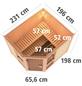 KARIBU Sauna »Pölva 3« ohne Ofen-Thumbnail