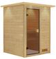 KARIBU Sauna »Prelly« ohne Ofen-Thumbnail