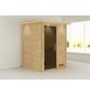 KARIBU Sauna »Prelly«, ohne Ofen-Thumbnail