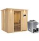 KARIBU Sauna »Rakvere«, mit Ofen, externe Steuerung-Thumbnail
