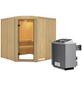KARIBU Sauna »Rapla« mit Ofen, integrierte Steuerung-Thumbnail