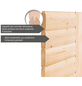 KARIBU Sauna »Riga 2«, BxTxH: 264 x 198 x 198 cm, 9 kw, Saunaofen, ext. Steuerung-Thumbnail