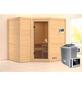 KARIBU Sauna »Riga 2«, inkl. 9 kW Saunaofen mit externer Steuerung für 4 Personen-Thumbnail