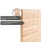 KARIBU Sauna »Riga 2« mit Ofen, externe Steuerung-Thumbnail