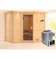 KARIBU Sauna »Riga 2«, mit Ofen, externe Steuerung-Thumbnail