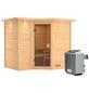 KARIBU Sauna »Riga 2« mit Ofen, integrierte Steuerung-Thumbnail