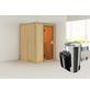 KARIBU Sauna »Rositten«, mit Ofen, integrierte Steuerung-Thumbnail