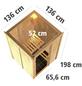 KARIBU Sauna »Rositten«, ohne Ofen-Thumbnail