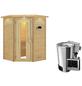 KARIBU Sauna »Rujen« mit Ofen, externe Steuerung-Thumbnail
