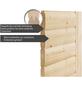 KARIBU Sauna »Rujen« mit Ofen, integrierte Steuerung-Thumbnail