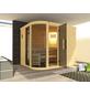WEKA Sauna »Sara 2«, inkl. 9 kW Saunaofen mit externer Steuerung für 3 Personen-Thumbnail