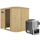 KARIBU Sauna »Saue 4«, mit Ofen, externe Steuerung-Thumbnail