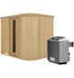 KARIBU Sauna »Saue 4«, mit Ofen, integrierte Steuerung-Thumbnail