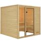 WOODFEELING Sauna »Senja«, für 4 Personen ohne Ofen-Thumbnail