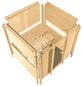KARIBU Sauna »Sindi« inkl. 9 kW Saunaofen mit externer Steuerung für 4 Personen-Thumbnail
