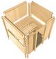 KARIBU Sauna »Sindi«, mit Ofen, externe Steuerung-Thumbnail