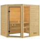 WOODFEELING Sauna »Skadi«, für 4 Personen ohne Ofen-Thumbnail