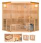 HOME DELUXE Sauna »Skyline«, mit Ofen, integrierte Steuerung-Thumbnail
