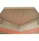 HOME DELUXE Sauna »Skyline XL BIG Kunststeinwand«, BxTxH: 200 x 200 x 200 cm, 8 kw, Saunaofen, int. Steuerung-Thumbnail