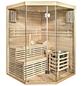 HOME DELUXE Sauna »Skyline XL« inkl. 6 kW Saunaofen mit integrierter Steuerung für 3 Personen-Thumbnail