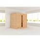 WOODFEELING Sauna »Sonja«, BxTxH: 196 x 146 x 198 cm, ohne Saunaofen-Thumbnail