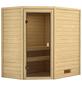 WOODFEELING Sauna »Sunniva«, für 4 Personen ohne Ofen-Thumbnail