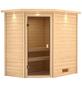 WOODFEELING Sauna »Svea«, für 3 Personen ohne Ofen-Thumbnail