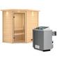 WOODFEELING Sauna »Svea« mit Ofen, integrierte Steuerung-Thumbnail