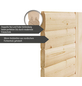 WOODFEELING Sauna »Svenja«, BxTxH: 146 x 146 x 146 cm, 9 kw, Bio-Kombi-Saunaofen, ext. Steuerung-Thumbnail
